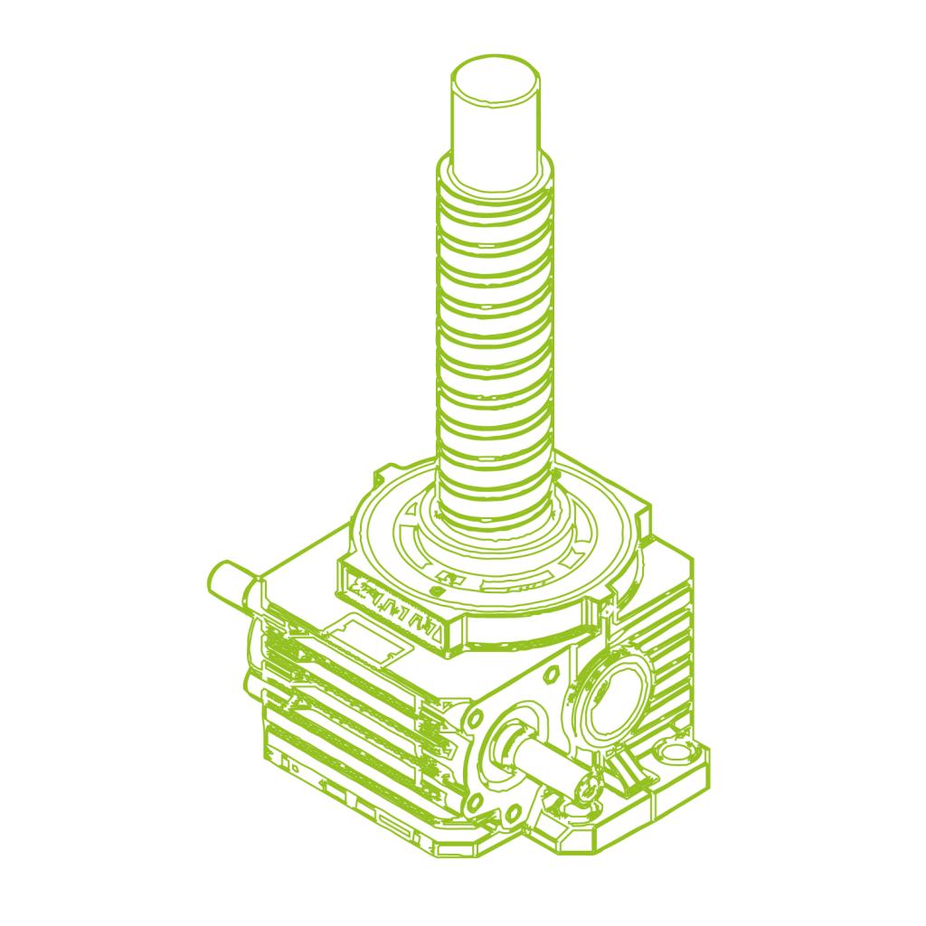 Z R-Ball screw 500kN | 125x40