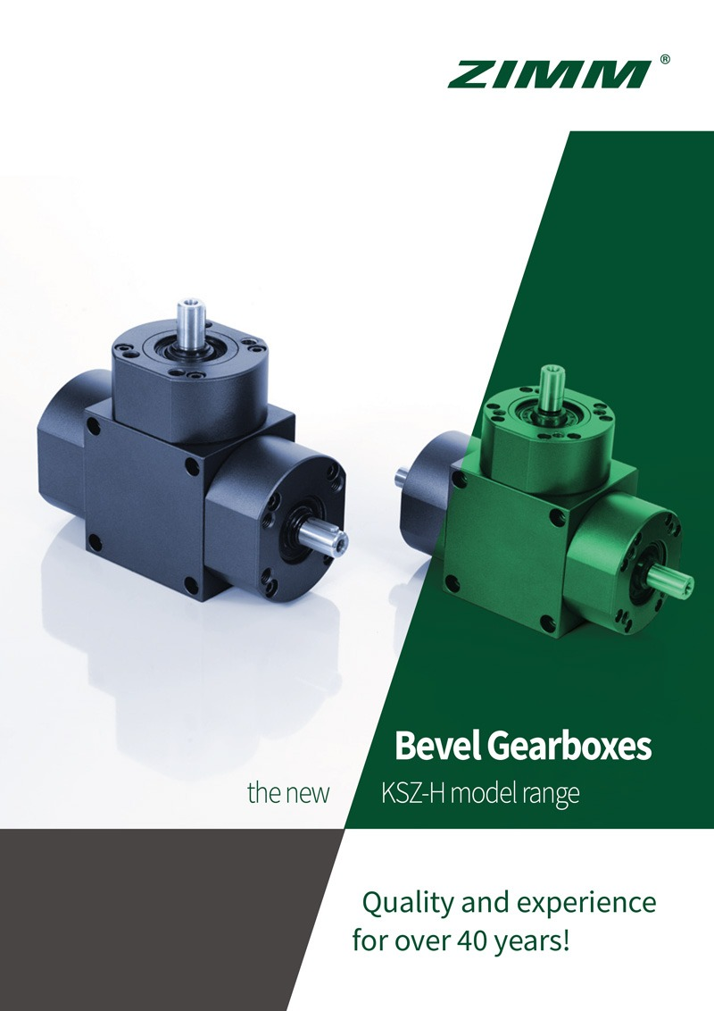 Bevel Gearboxes | KSZ-H | English