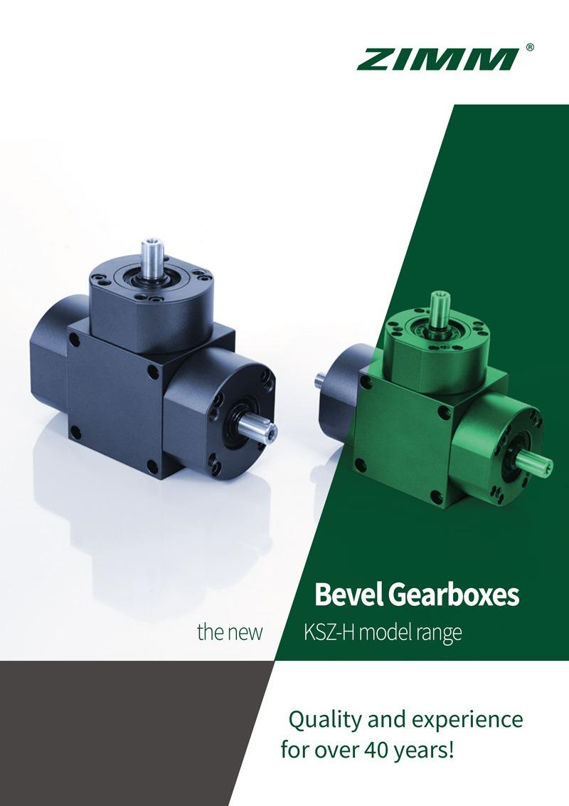 Bevel Gearboxes | KSZ-H | English Brochure