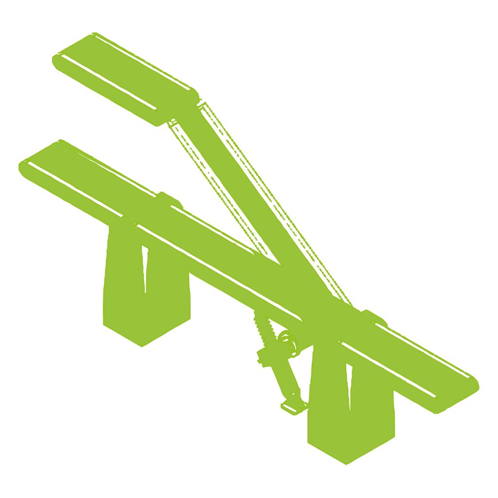 Swivelling conveyor