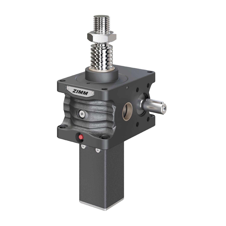 100kN-55x9-S-Trapezoidal screw | ZE