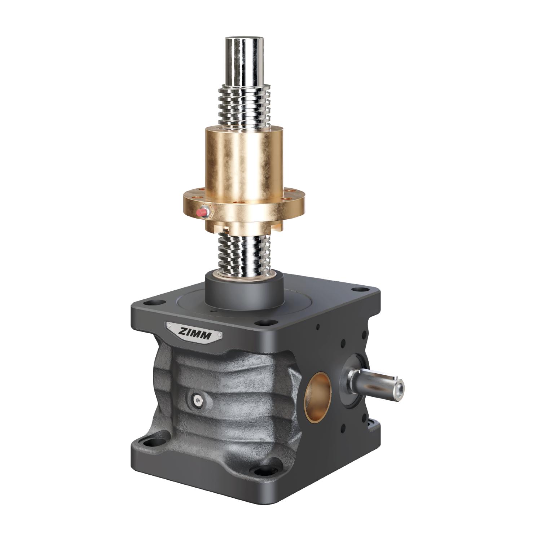 200kN-70x12-R-Trapezoidal screw | ZE
