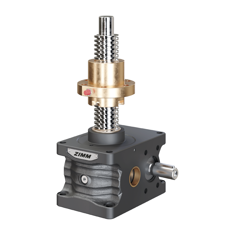 50kN-40x7-R-Trapezoidal screw | ZE