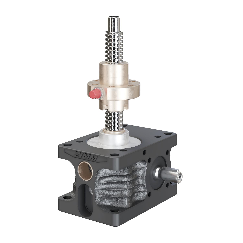 5kN-18x4-R-Trapezoidal screw | ZE